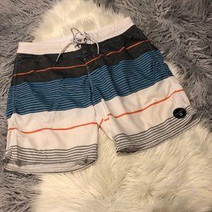Billabong Striped Swim Shorts
